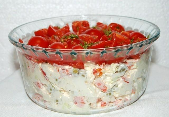 "Вместо ""Шубы"" - классный салат Красная шапочка"