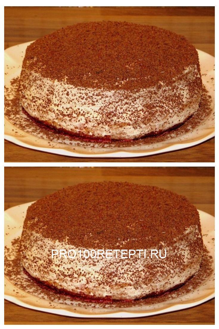 Простой торт «Если пропадает кефир»